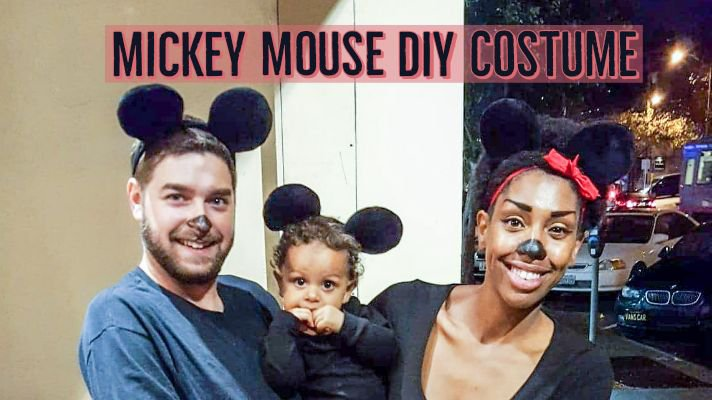 Mickey Mouse: DIY Costume!