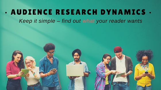 Audicence research dynamics