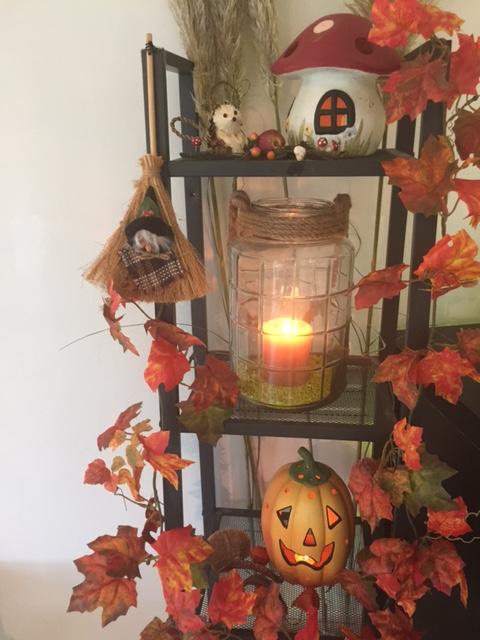 Halloween bij the magic mirror