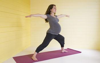 Pregnancy yoga Blackheath