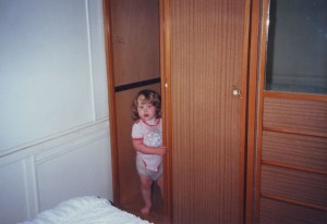 me in cupboard