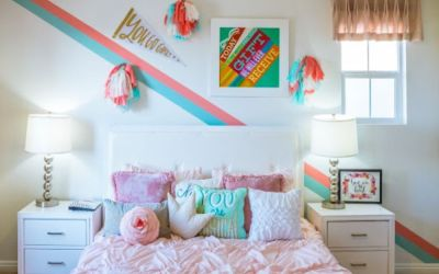 Tips For Setting Up A Fun Kids Bedroom For Your Newest Family Member