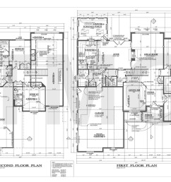 first second floor plan electrical plan house  [ 1400 x 933 Pixel ]