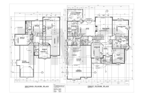 small resolution of first second floor plan electrical plan house
