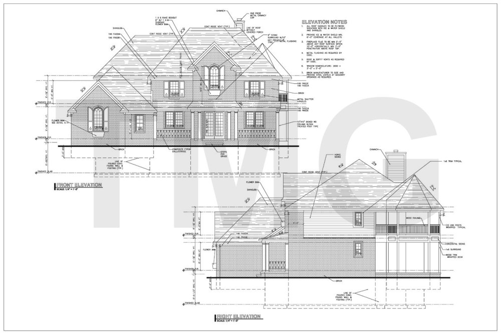 medium resolution of elevation drawing 2