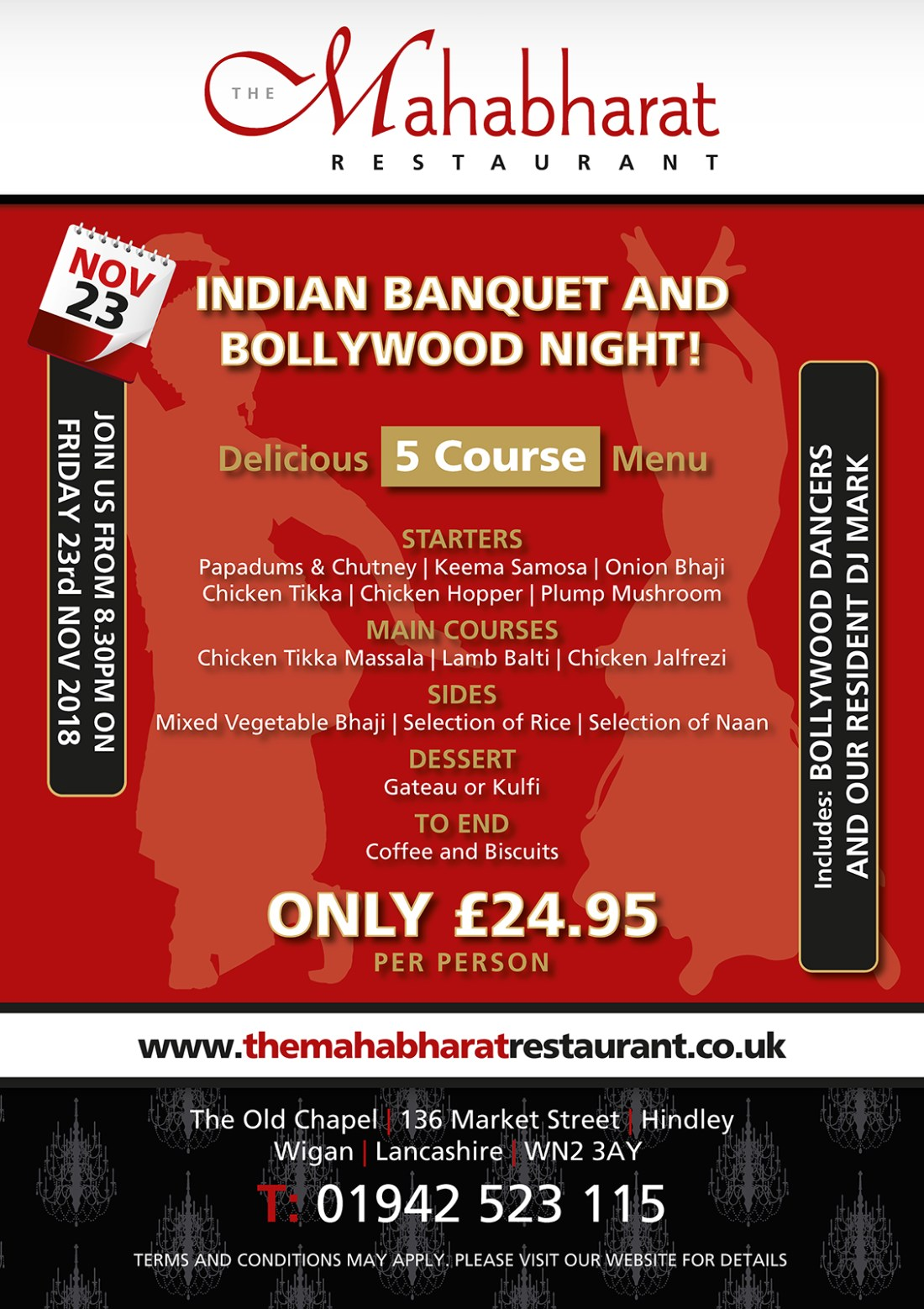 THE MAHABHARAT RESTAURANT