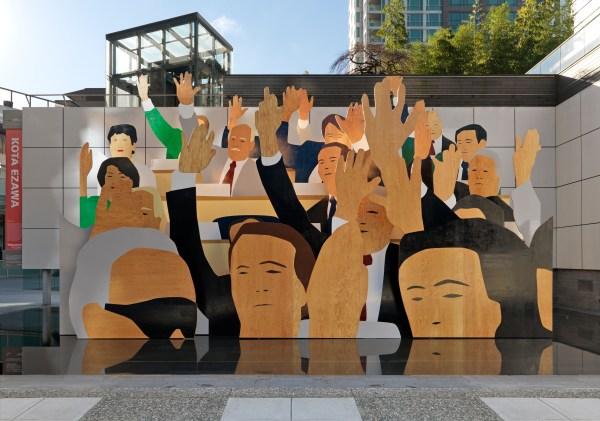 Kota Ezawa Hand Vote Mainlander
