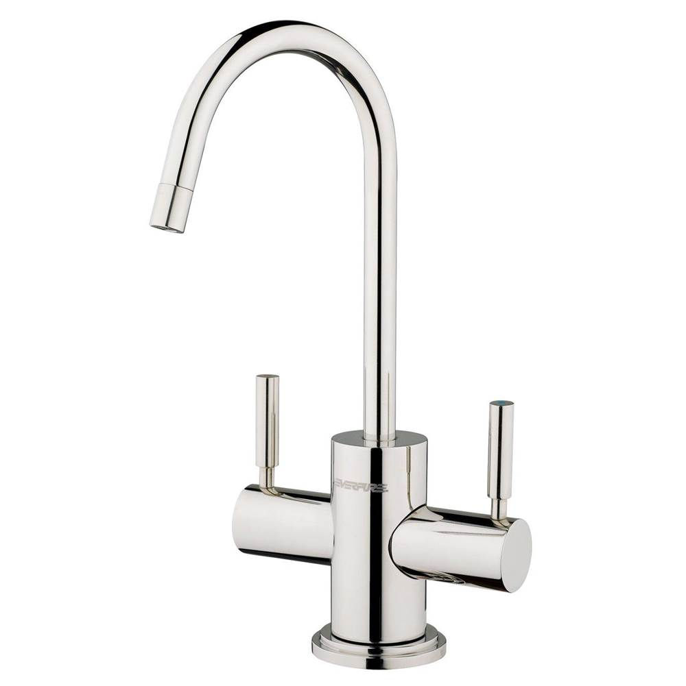 faucet hot cold polished ss