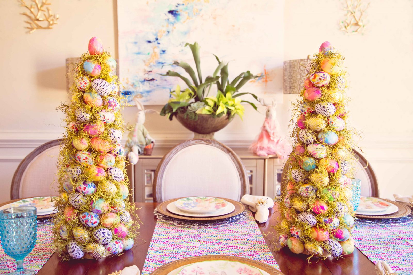 Make Your Own Beautiful Easter Tree – The Majestic Mama