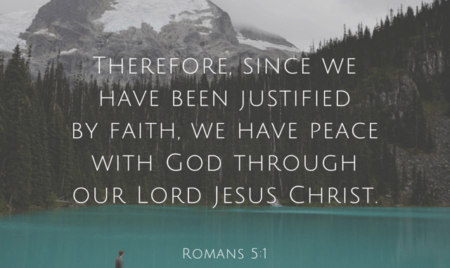 peace made possible by Jesus