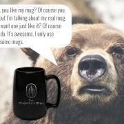 the majestys men bear manly mug awesome