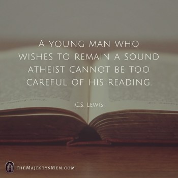 C.S. Lewis On How An Atheist Must Be Careful What He Reads – [Quote]
