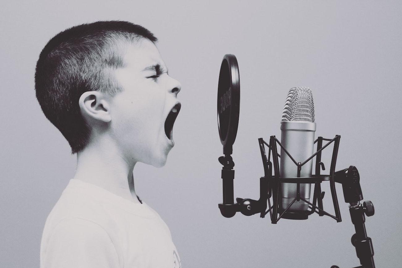 social media boy man shout hope peace joy boy shouting microphone image