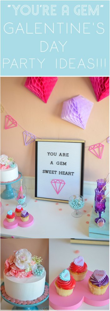 Youre A Gem Galentines Day Party