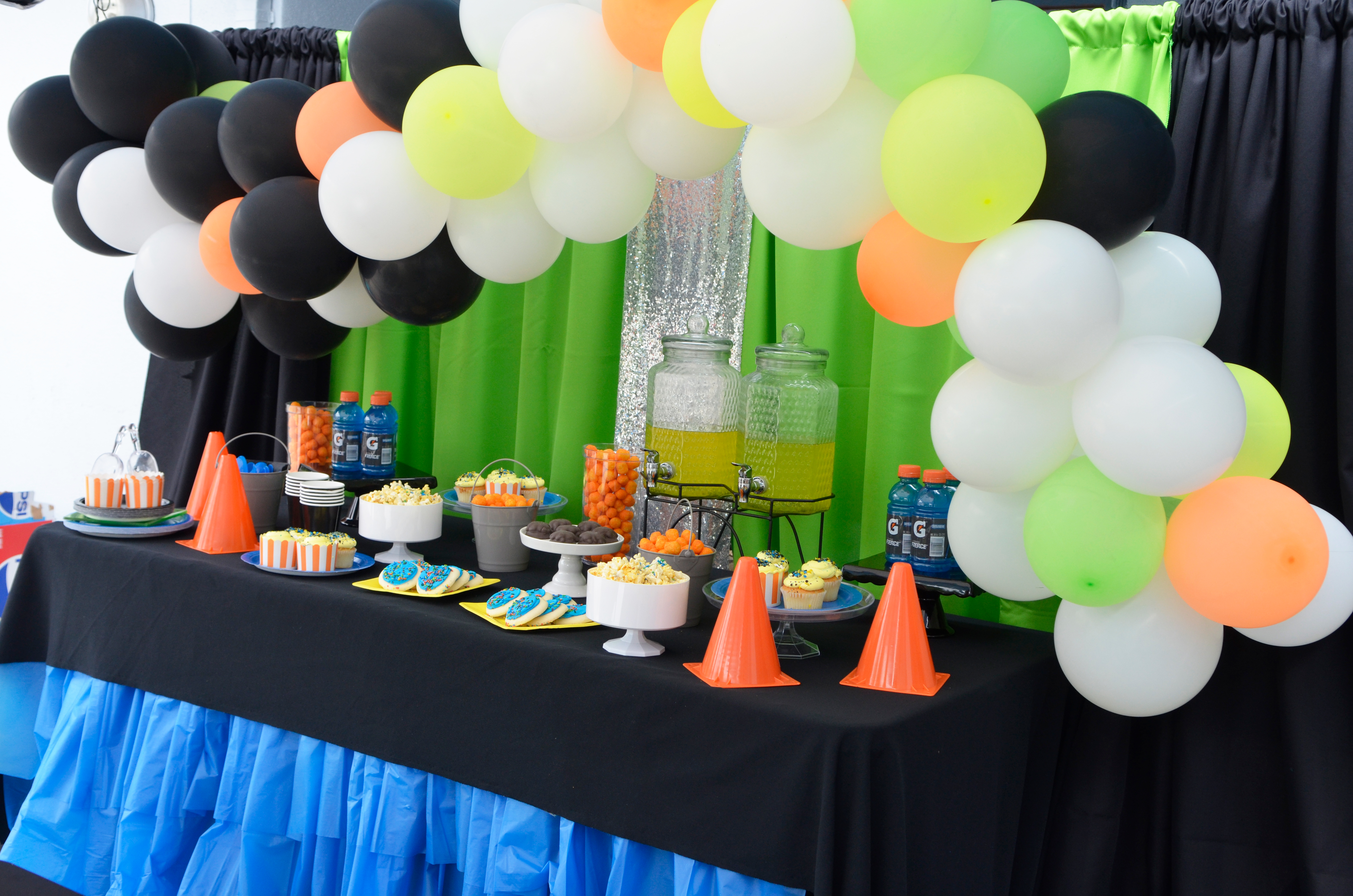 Boys Game Truck Party Decorations Ideas Supplies Easy Cheap Dollar