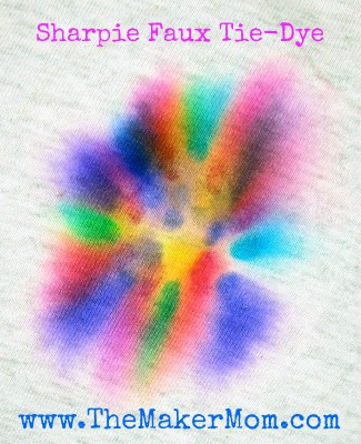 How to Tie Dye with Sharpie Markers