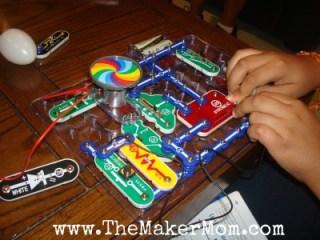 Snap Circuits Light experiments