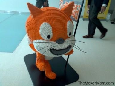 Scratchy The Scratch Cat
