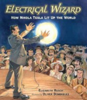 Nikola Tesla biography picture book for kids