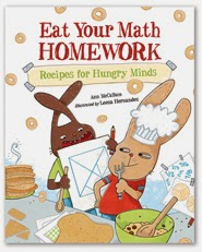 Eat Your Math Homework Book Review from TheMakerMom.com