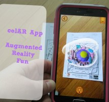 colAR Mix App for 3D Coloring Fun