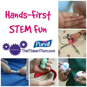 Hands-first STEM Fun with PURELL