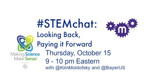#STEMchat with The Maker Mom and Bayer US.