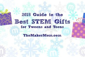 Don't miss TheMakerMom.com's annual roundup of the best STEM gifts for tweens and teens!