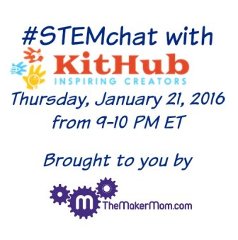 #STEMhat with The Maker Mom and KitHub