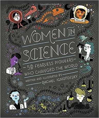Women in Science book by Rachel Ignotofsky