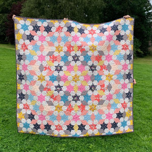 Serendipity Star Quilt English Paper Piecing Pattern