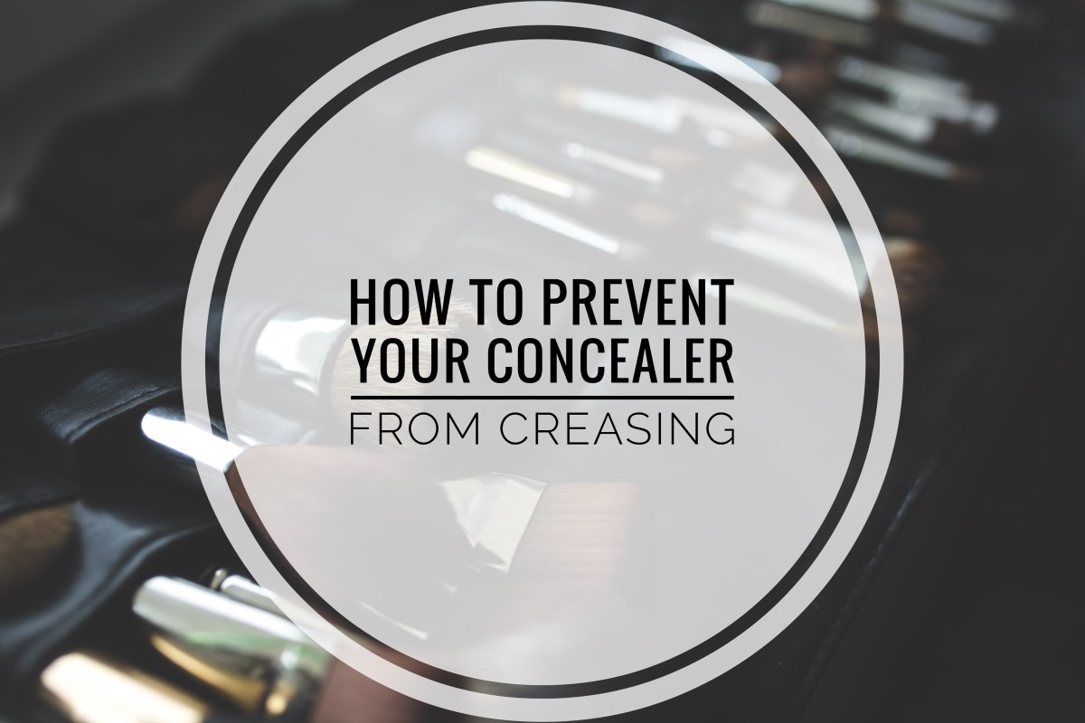How To Prevent Your Concealer From Creasing!