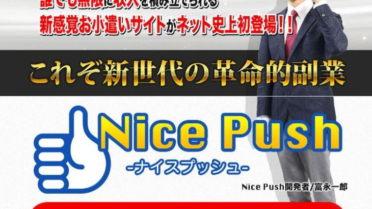 富永一朗 Nice Pushプロジェクト