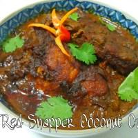 Kari Ikan Merah (Red Snapper Coconut Curry)