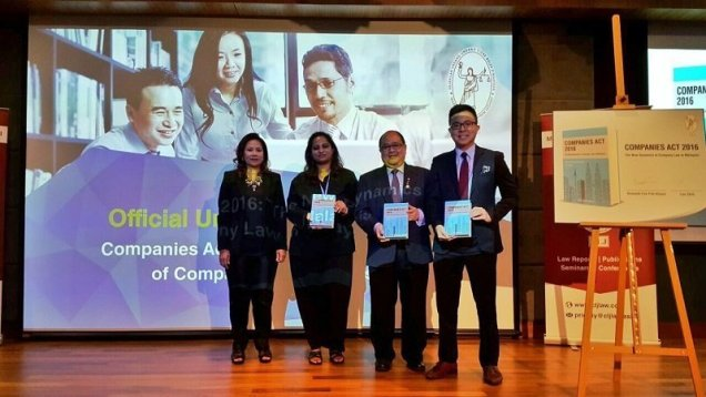 With Rostina (director of CLJ Law), Kumitha (editor for our book), Kenneth Foo and myself