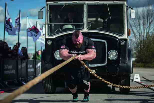 World's strongest man Eddie Hall