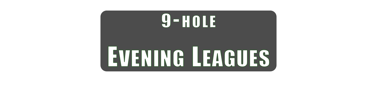 9 Hole Evening Leagues