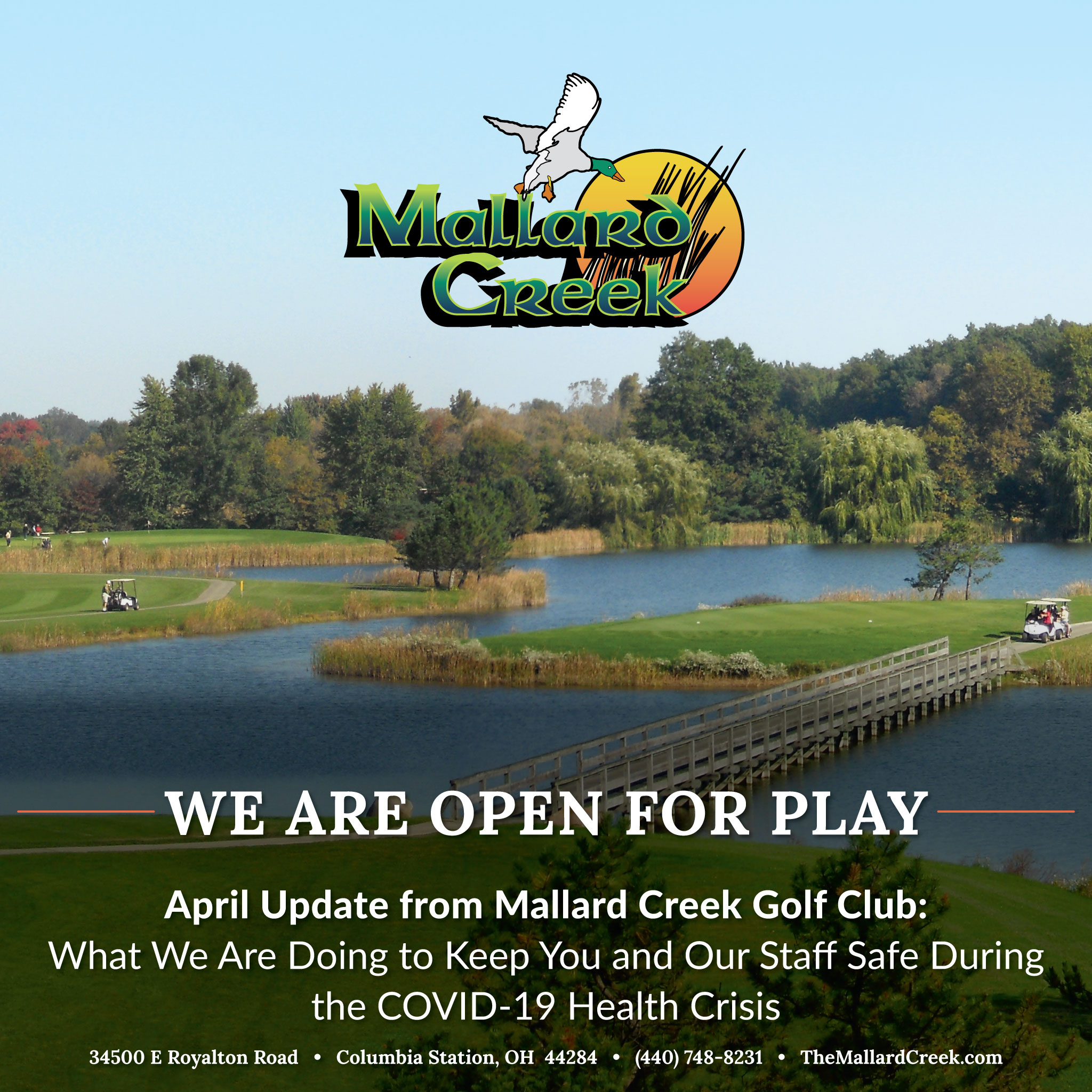 Mallard Creek Open