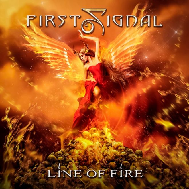 "Ny Skivrecension: First Signal – ""Line Of Fire""."