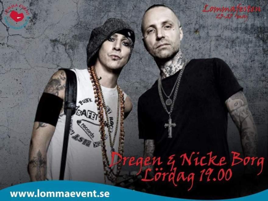 Dubbelt upp för Nicke & Dregen till helgen.