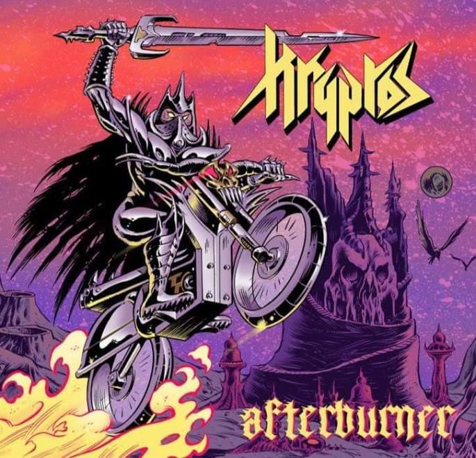 "Ny Video: ""KRYPTOS – Afterburner (2019) // Official Music Video // AFM Records"""
