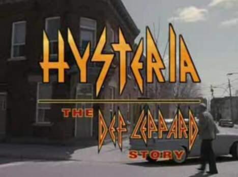 """Hysteria : The Def Leppard Story 18 år."