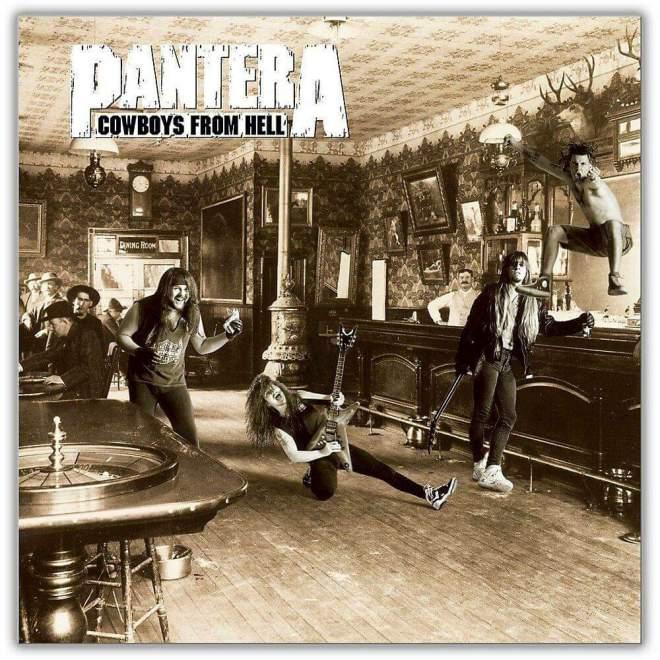 """Pantera – """"Cowboys From Hell"""" 29 år."""