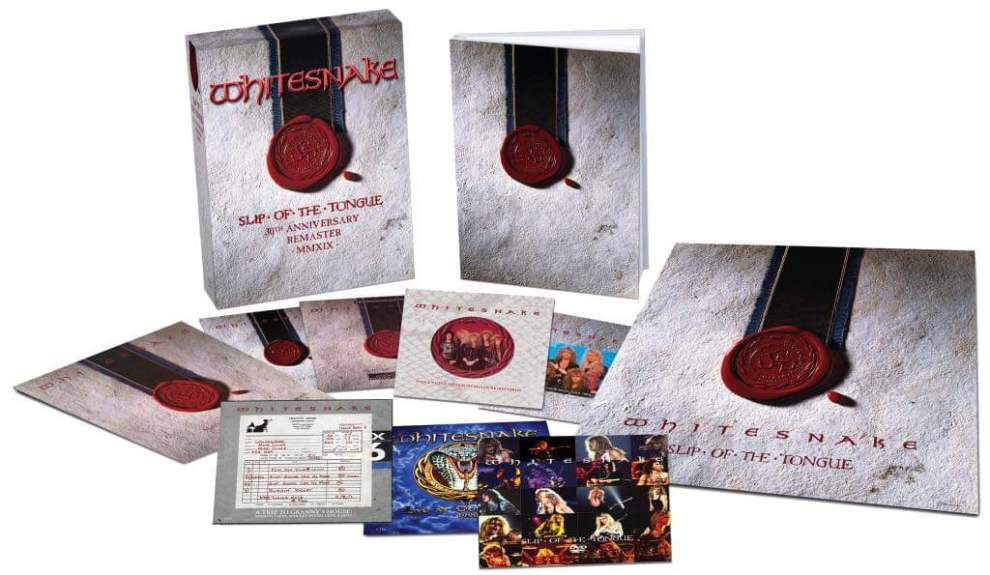 "Whitesnake släpper ""Slip Of The Tongue 30th Anniversary Edition"""