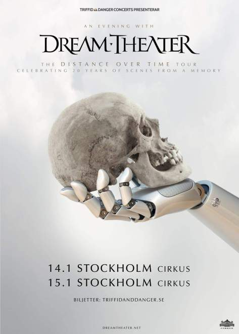 An Evening With Dream Theater Circus Stockholm