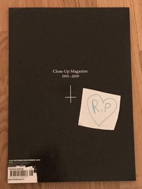 Öppet brev från Close Up Magazine till alla berörda.