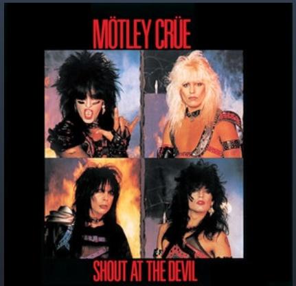"""Mötley Crüe – """"Shout At The Devil"""" 36 år."""