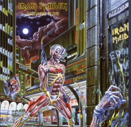 "Iron Maiden – ""Somewhere In Time 33 år. (och en dag 😀)"