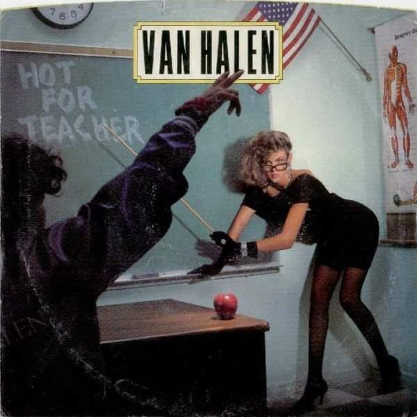 "Van Halen – ""Hot For Teacher"" 35 år."