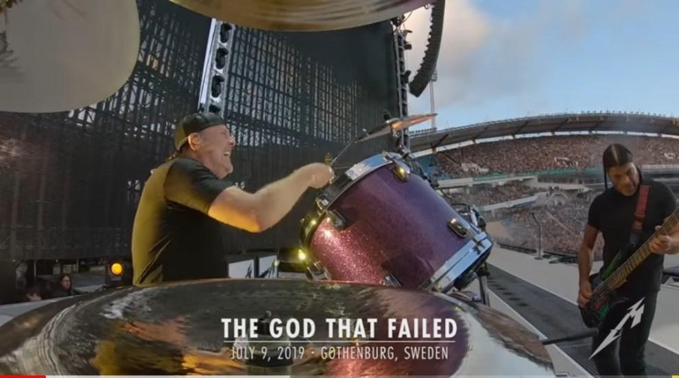 "Ny Video: Metallica – ""The God That Failed"". Live från Ullevi Göteborg 190709."